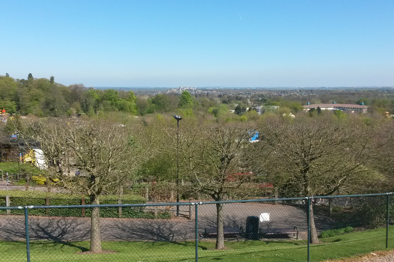 View of Legoland Windsor