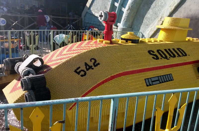 Submarine adventure at Legoland Windsor as a family of 4