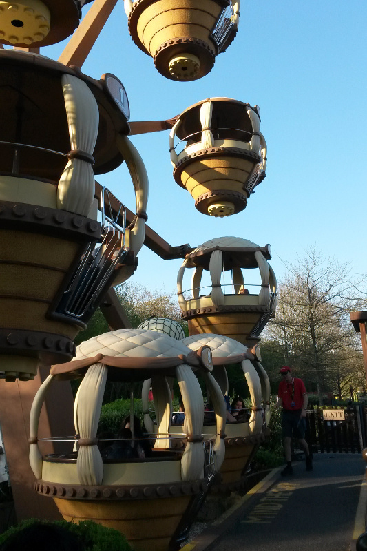 Day out with kids at Legoland Windsor, Aero Nomad adventure