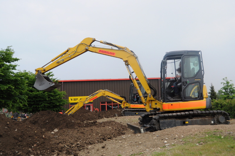 What to expect when spending a day out at Diggerland with kids