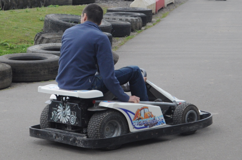 Go-Carts at Diggerland - adventure park in Kent for children and adults