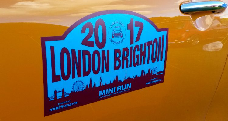 Mini Run 2017 in London