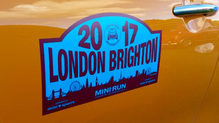 Mini Run London to Brighton 2017