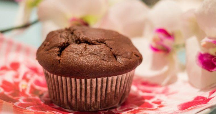 Chocolate muffins – dairy-free, gluten-free, sugar-free