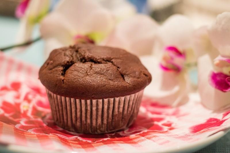 Chocolate muffin - sugar free, dairy free, gluten free