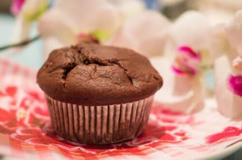 Chocolate muffins - gluten free, dairy free, sugar free