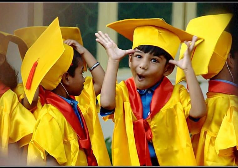 Preschool graduation - ready to start school