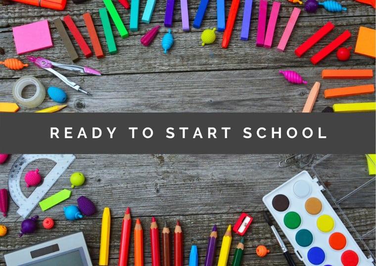 Help kids be ready to start school