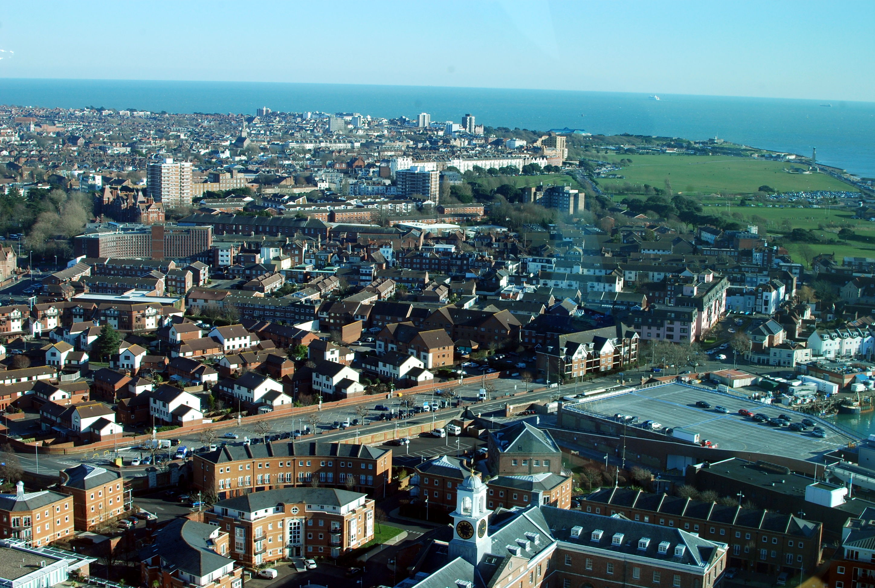 South view from Spinnaker Tower
