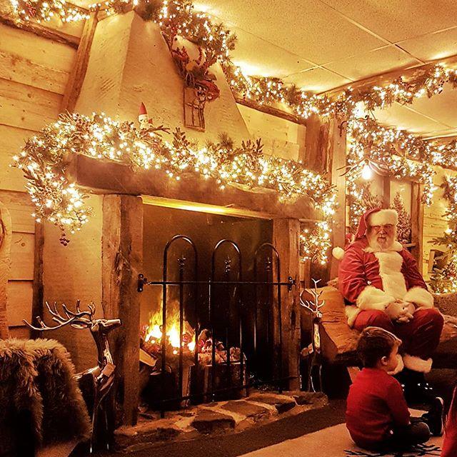 Santa's Grotto at Polhill Center