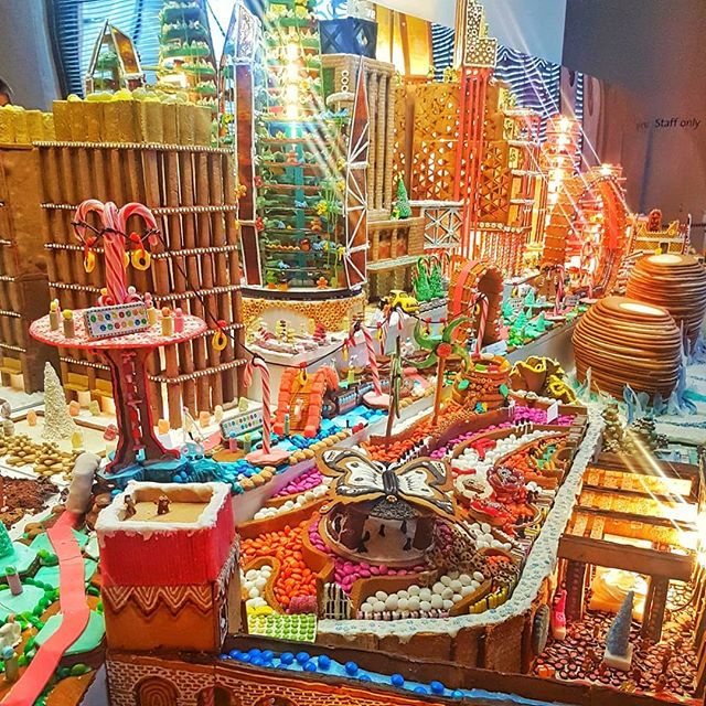 Gingerbread City at V&A Museum in London