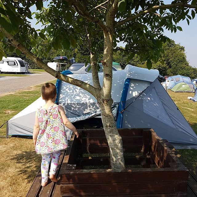 Camping with kids in the UK