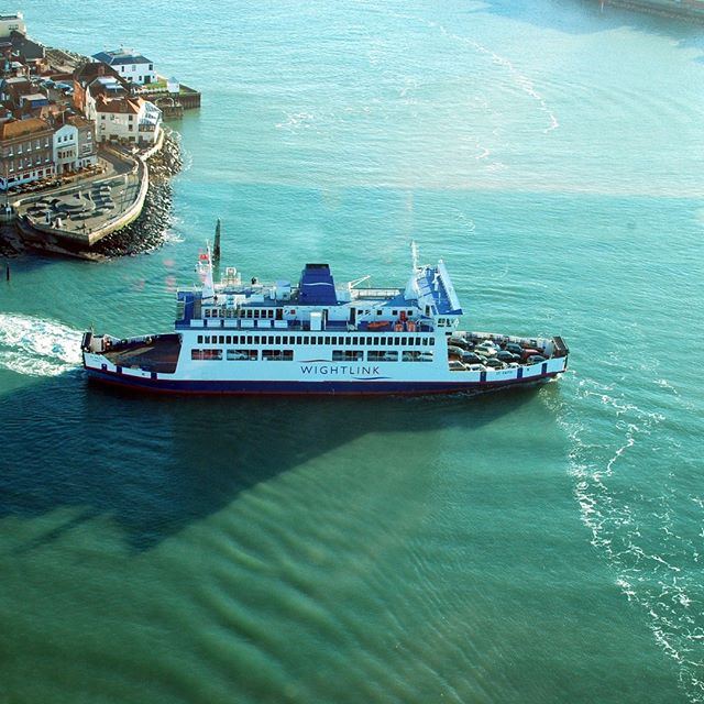 View from Spinnaker Tower in Portsmouth