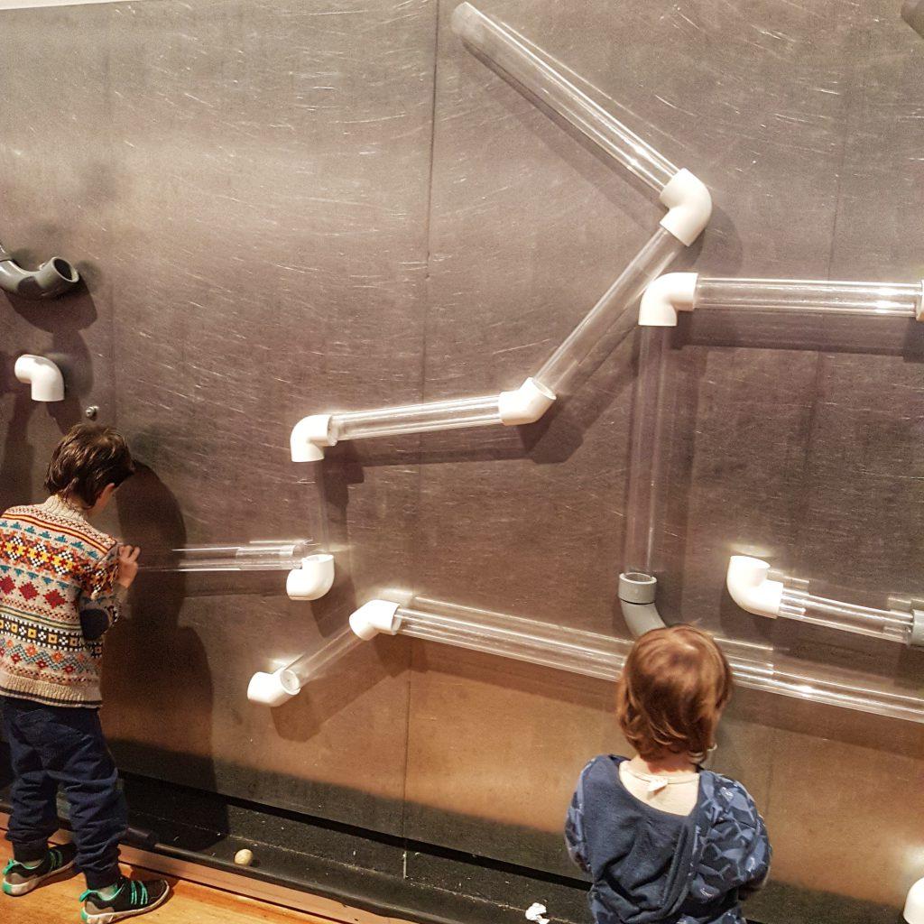 Children playing at WonderLab - Science Museum London