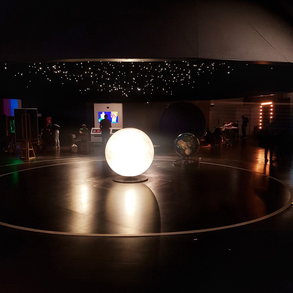 Part of the Solar System for kids at Science Museum in London