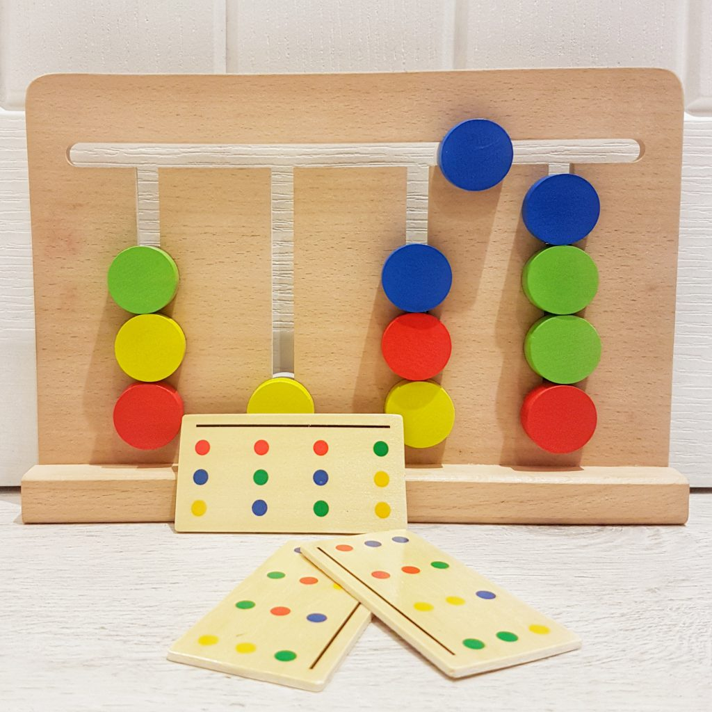 Color sorting maze - Brain Game for Kids developing their logical thinking