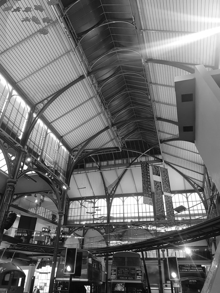 London Transport Museum - housed in the old Grade II-listed Flower Market building