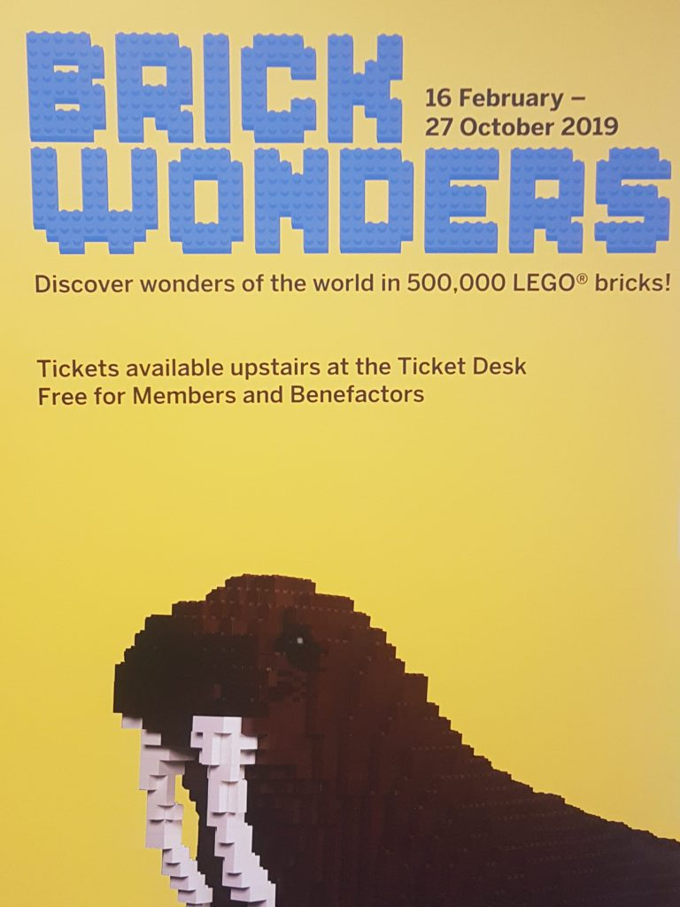 Lego at Horniman Museum in London