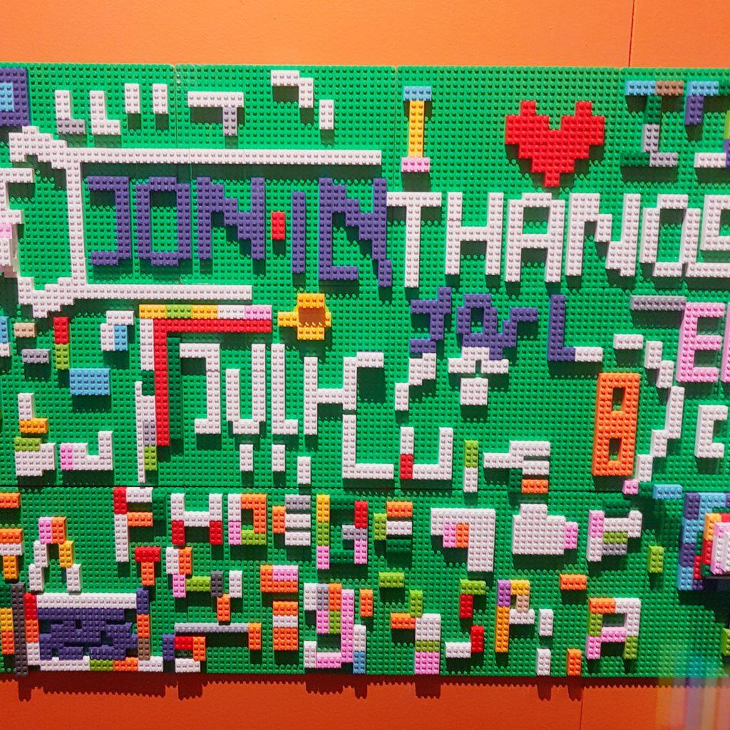 Lego display at Brick Wonders in London at Horniman Museum