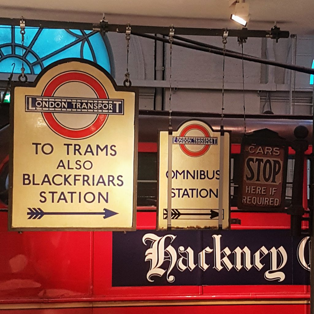 Pieces of UK history of transport