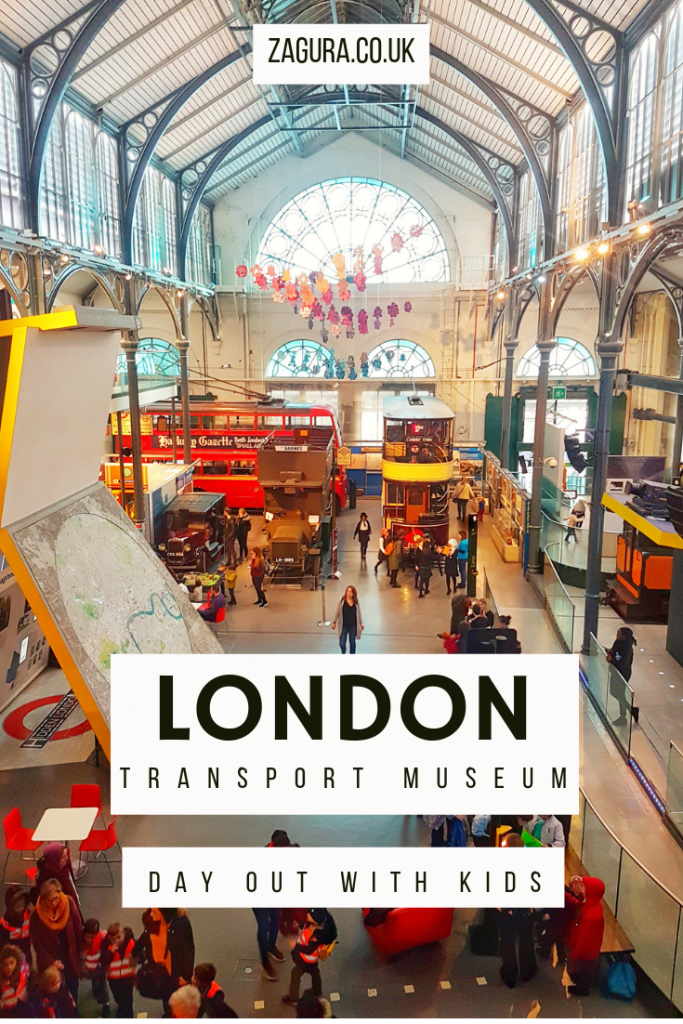 London Transport Museum - day out with kids