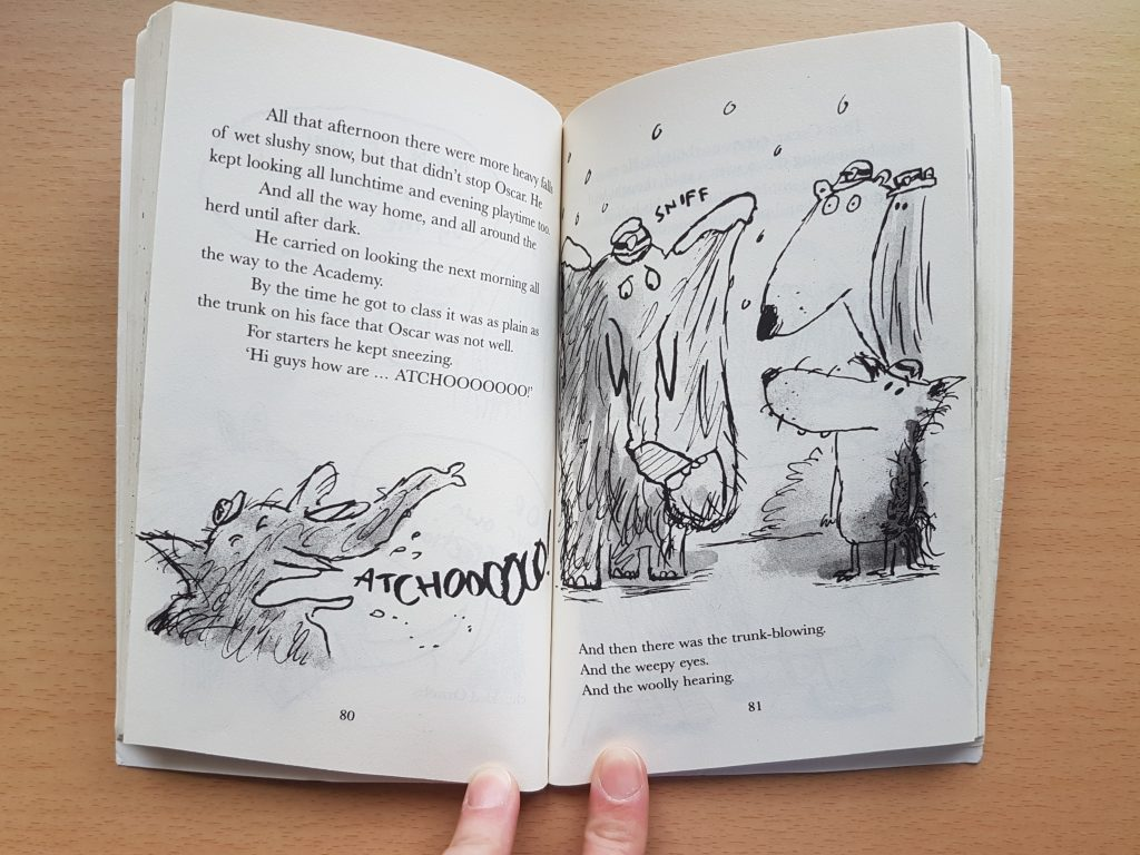 See inside Mammoth Academy chapter books for young readers