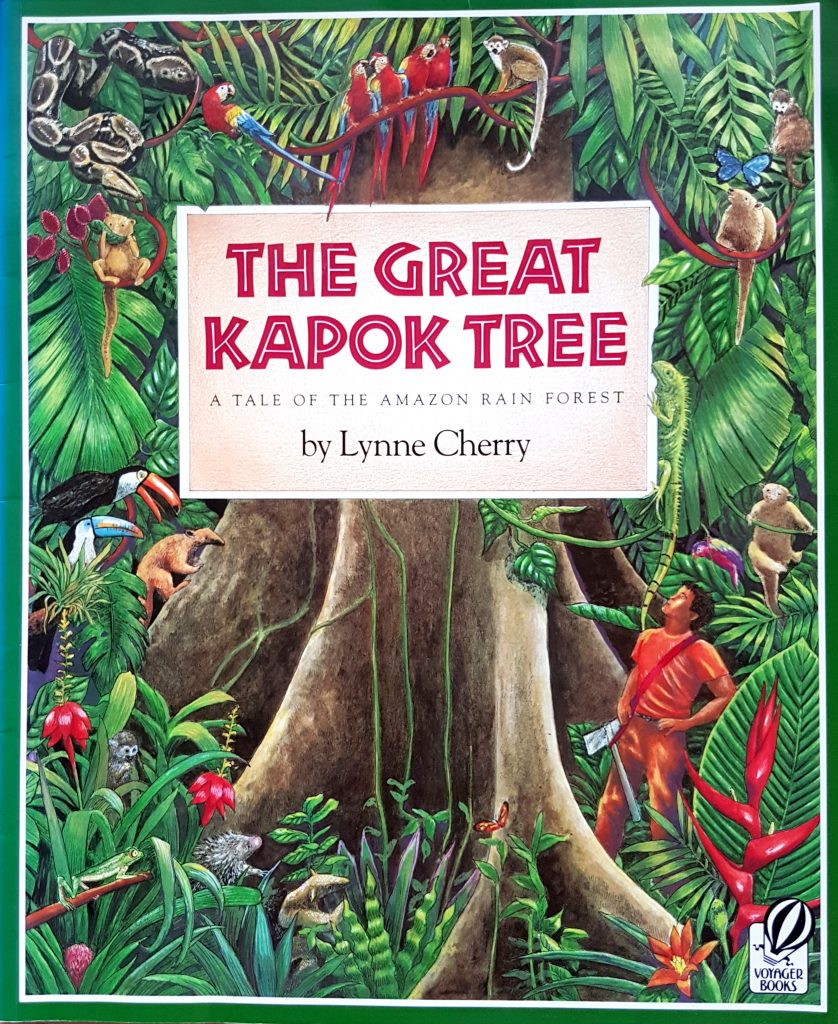 The great kapok tree - the importance of recycling