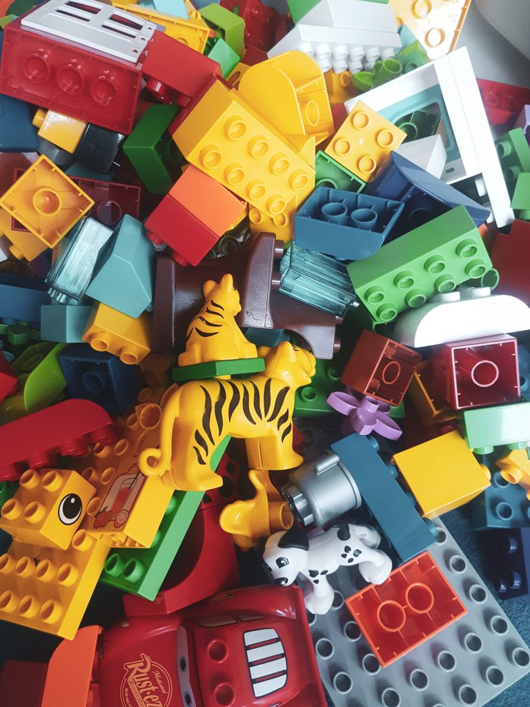 toy minimalism and decluttering toys