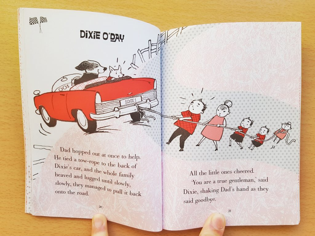 Image from Dixie O'Day book for children