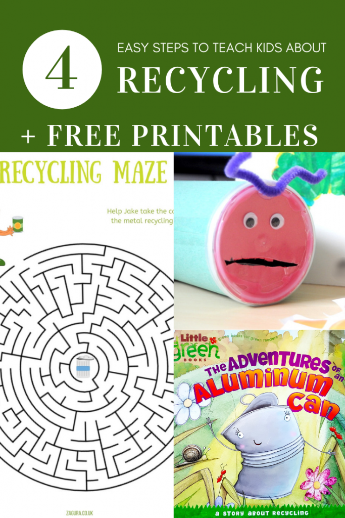 4 easy steps to teach children about recycling
