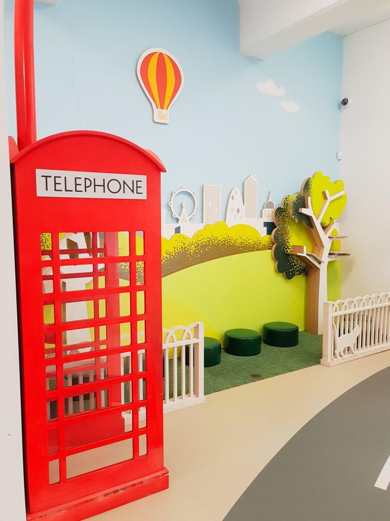 Phone boot at Postal Museum London