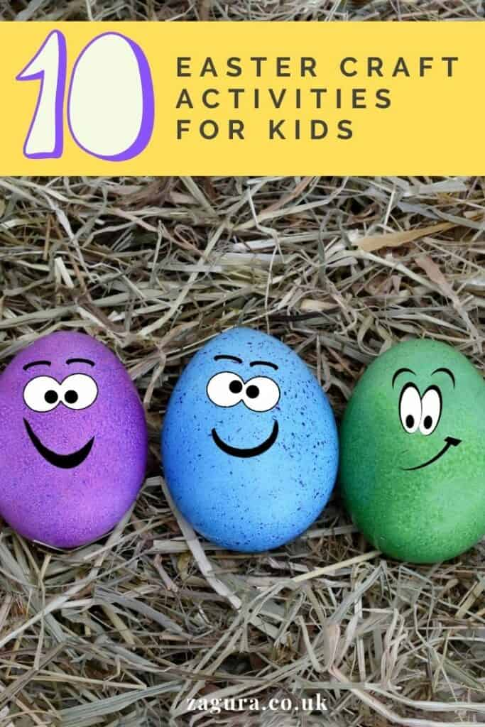 10 Easter Craft activities for kids