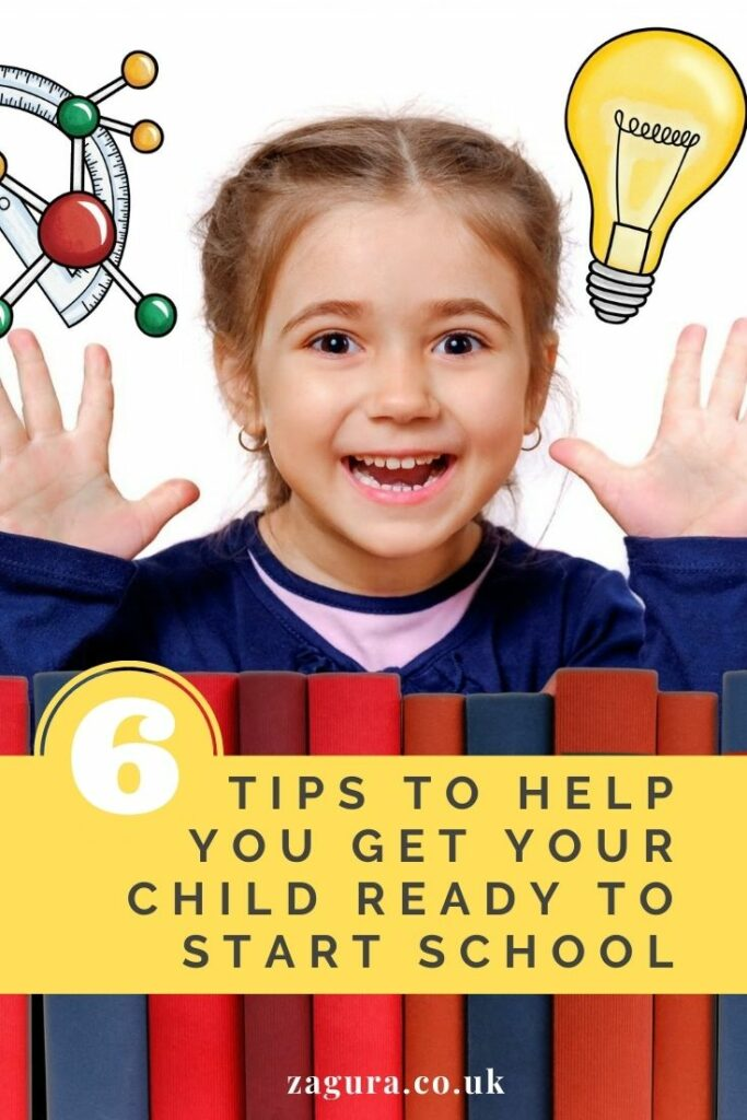 6 tips to help your kids be ready to start school