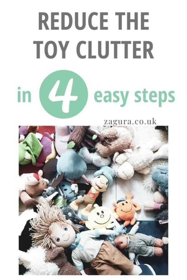 Reduce the roy declutter in 4 easy steps